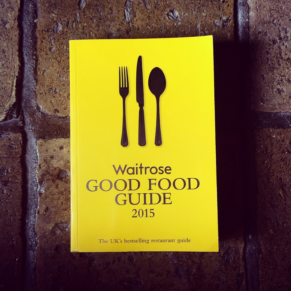The Foodie's Bible. Looking forward to eating my way around the UK over the next few months.