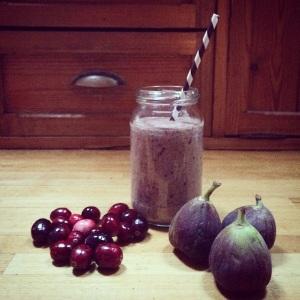 14:12 Fig, Cranberry & Hazenut smoothie