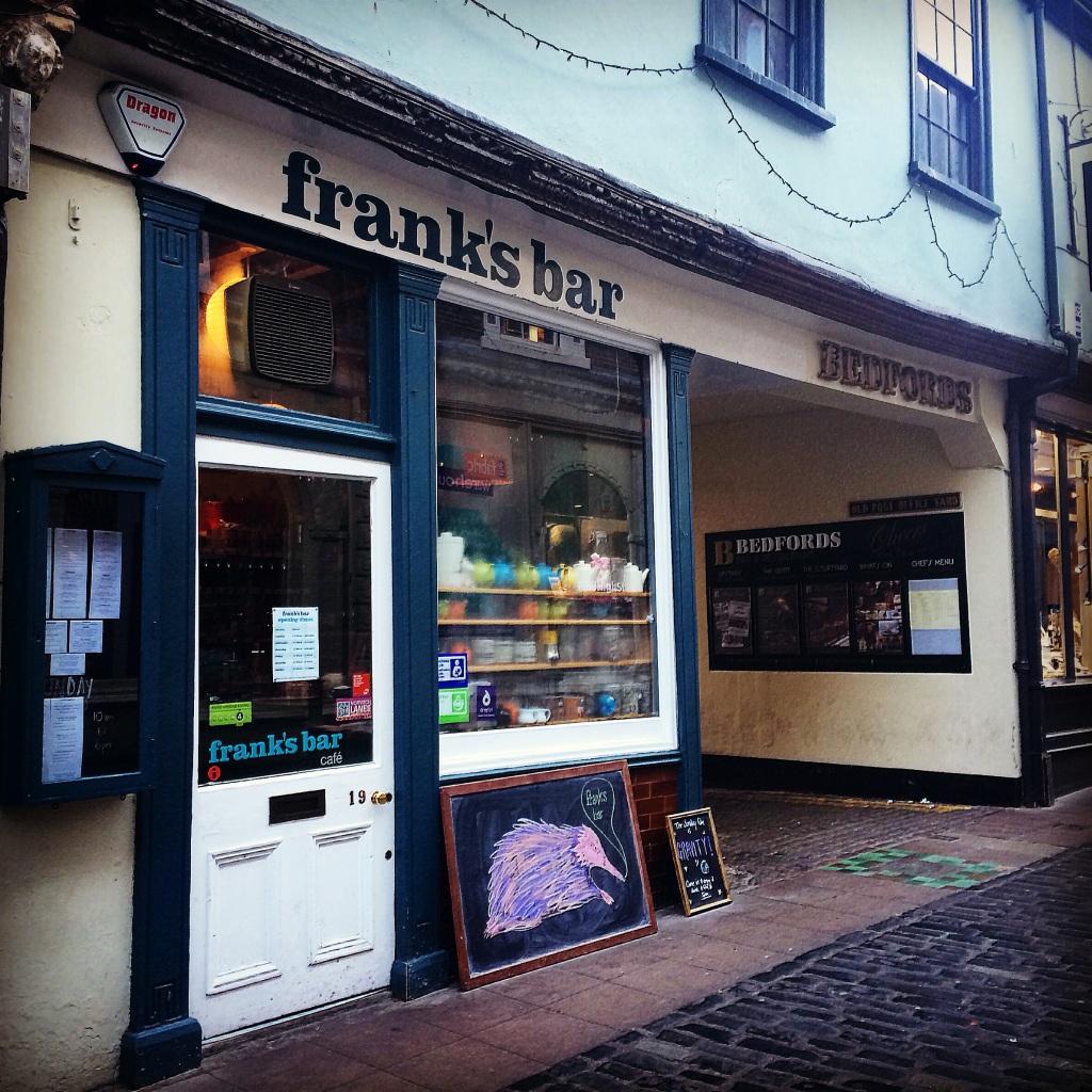 Frank's Bar. Lovely Job.